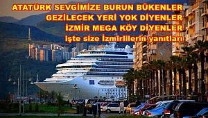 İZMİR'E, İZMİRLİYE SALDIRANLAR, ALIN SİZE YANIT!