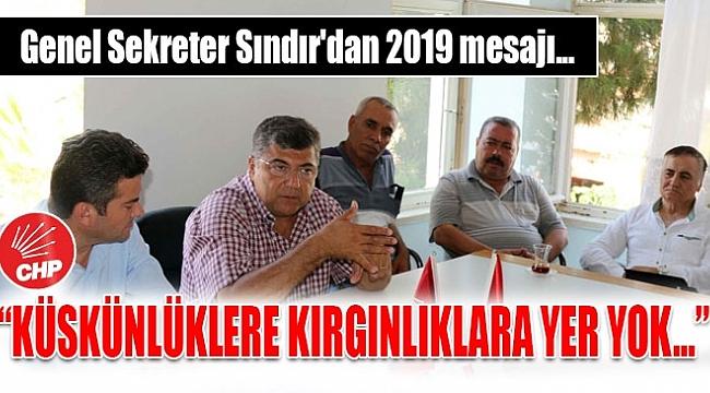 SINDIR'DAN BİRLİK MESAJLARI