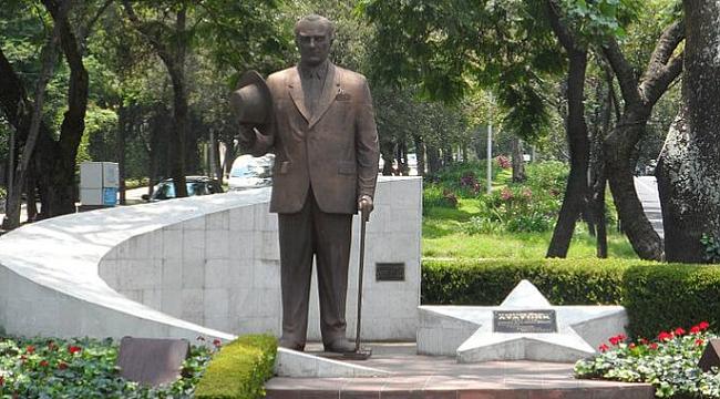 Dünyada Atatürk heykelinin bulunduğu ülkeler...