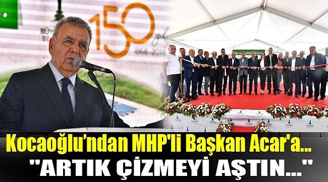 BAŞKAN KOCAOĞLU, ALİAĞA BELEDİYE BAŞKANI'NA SERT ÇIKTI!