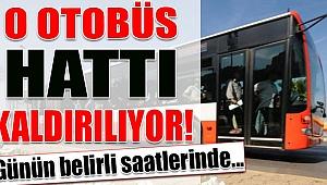 DİKKAT: İzmir'de çok sık kullanılan otobüs hattında değişiklik
