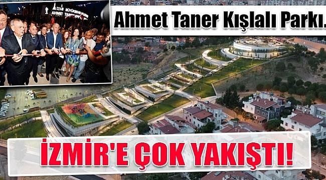 İzmir Ahmet Taner Kışlalı Parkı açıldı