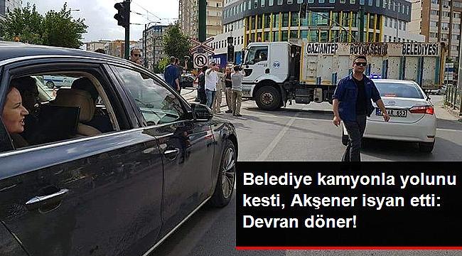 GAZİANTEP'TE YOLU KESİLDİ!
