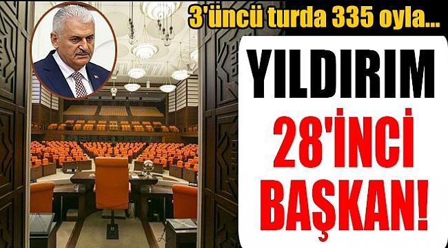BİNALI YILDIRIM 3. TURDA SEÇİLDİ