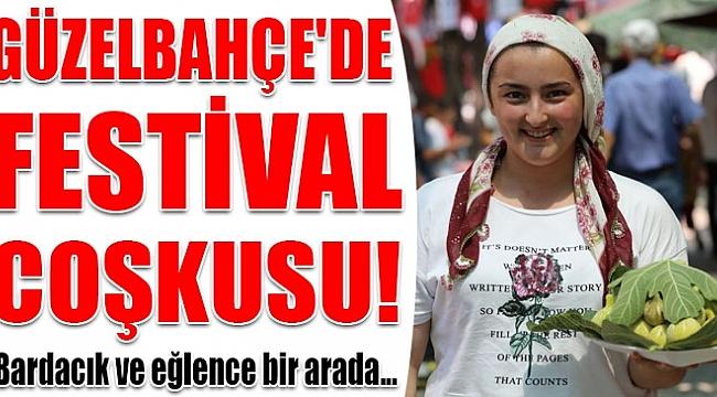 GÜZELBAHÇE'DE FESTİVAL VAR