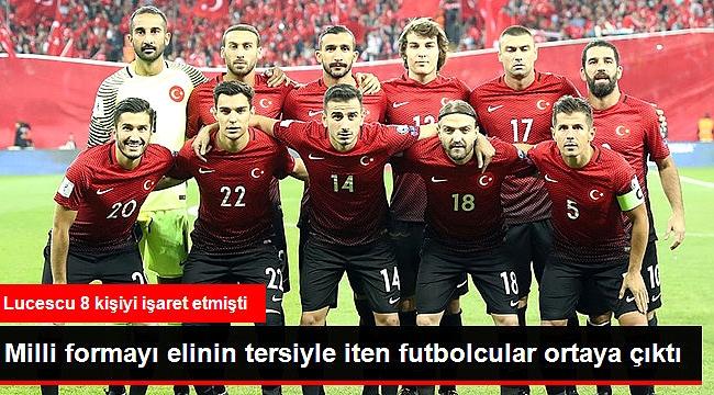 8 FUTBOLCU MİLLİ TAKIMI REDDETTİ!