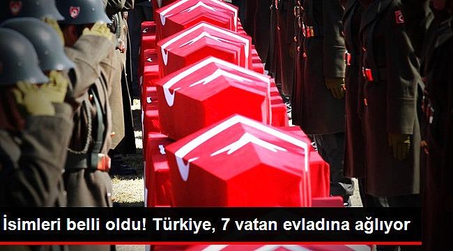Batman'daki Hain Pusuda Şehit Düşen 7 Mehmetçik'in Hikayesi Yürekleri Dağladı