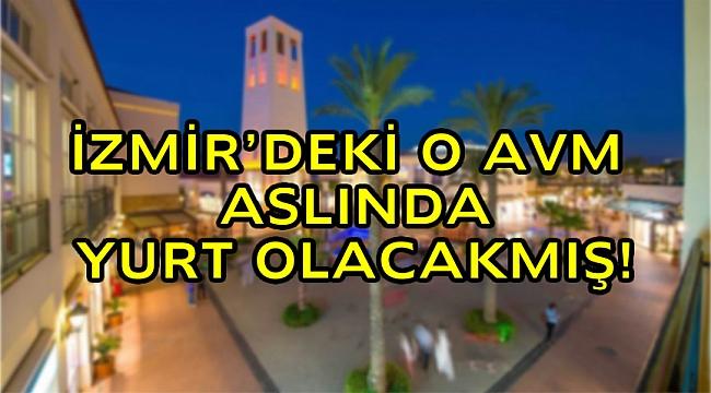 İzmir Bornova'daki AVM mahkemelik oldu. Ege Üniversitesi arsası yurt yapılmak için kamulaştırıldı iddiası