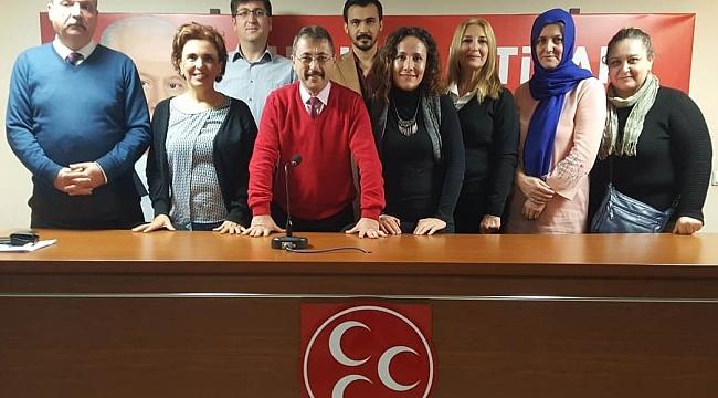 MHP İzmir İl Başkan Yardımcısı Cumhur Bulut,