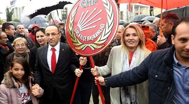 CHP ADAYI BURAK OĞUZ: URLA'DA TARİH YAZACAĞIZ