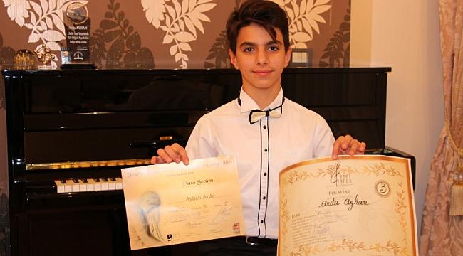 Küçük Piyanistten Uluslararası Başarı