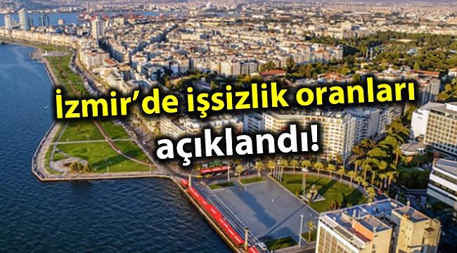 İzmir'de işsizlik oranları açıklandı!