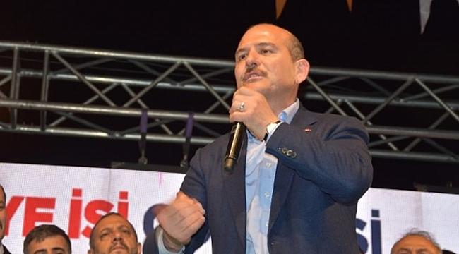 Soylu' 'İzmir'i 4Ç'den kurtaracağız'