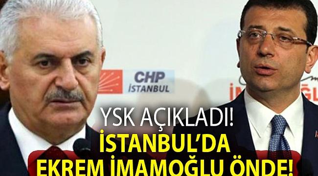 SON DAKİKA ! YSK başkanı Sadi Güven Açıkladı! İstanbul'da Ekrem İmamoğlu önde!