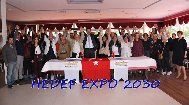 KARABULUT: EL ELE VERELİM  İNCİRALTI'NI VE EXPO 2030'U KAZANALIM