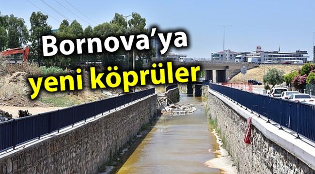 Bornova'ya yeni köprüler