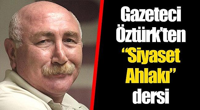 KARATAŞ'A GÖNDERME, ELEŞTİRİ KABUL AMA KIRMADAN DÖKMEDEN...
