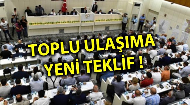 TOPLU ULAŞIMA YENİ TEKLİF !