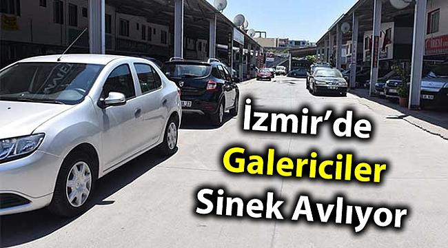 İzmir'de Galericiler Sinek Avlıyor