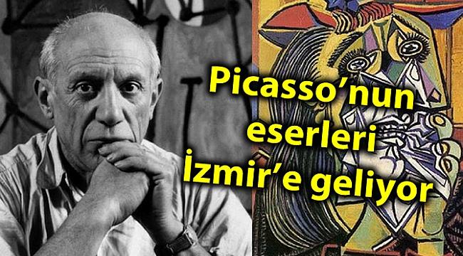 Picasso'nun eserleri İzmir'e geliyor