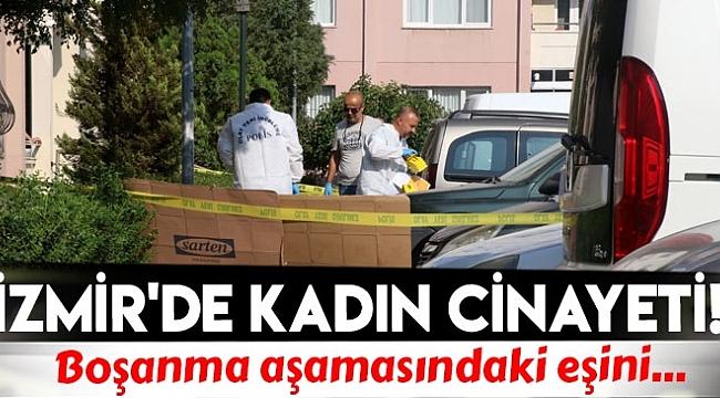 İZMİR'DE POLİS EŞİNİ VURUP İNTİHAR ETTİ