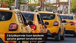 İZMİR'DE TAKSİLER PLAKASINA GÖRE TRAFİĞE ÇIKACAK
