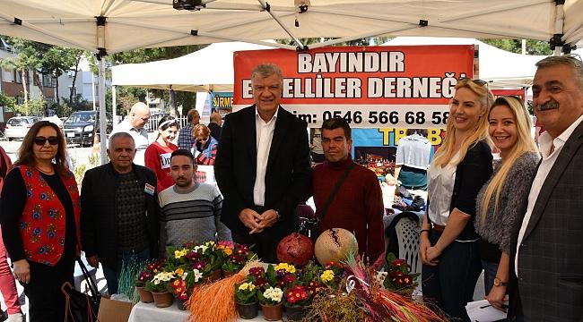 ÜRETİCİ KADIN PAZARI NARLIDERE'DE