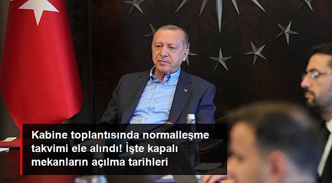 İŞTE NORMALLEŞME TARİHLERİ