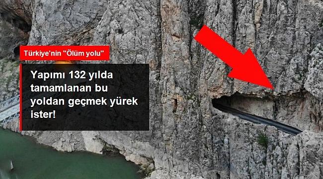 TÜRKİYE'DEKİ BU YOLLARDAN GEÇMEK YÜREK İSTER!