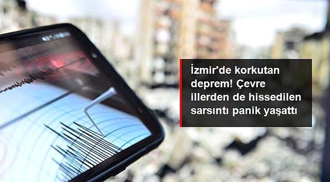 İZMİR-URLA'DA DEPREM 4.1
