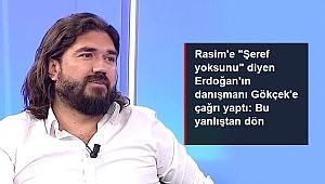 CUMHURBAŞKANI ERDOĞAN'IN DANIŞMANI TARAFINDAN PROTESTO EDİLDİ