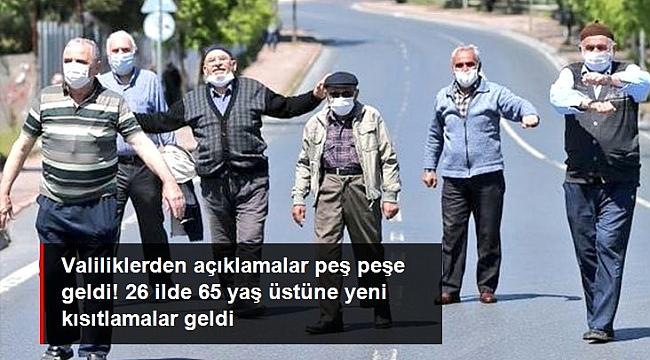 İZMİR'DE DE YASAKLAR GELDİ