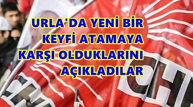 URLA'DAN CHP İZMİR İL BAŞKANI'NA SERT UYARI