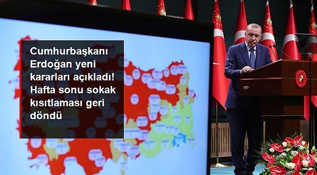 VAKALAR ARTTI YASAKLAR GERİ GELDİ