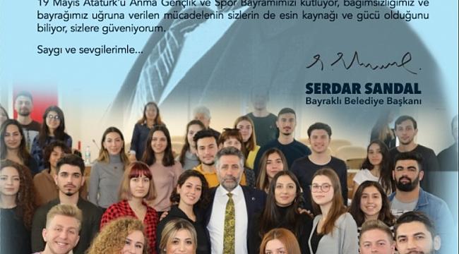 BAŞKAN SANDAL'DAN GENÇLERE MEKTUP..