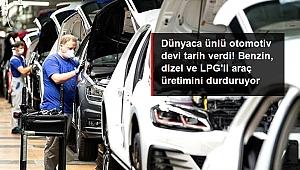 ÖNCE AUDİ ŞİMDİ DE VOLKWAGEN AYNI KARARI ALDI