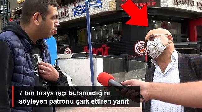 YALANCI PATRON, İŞÇİ
