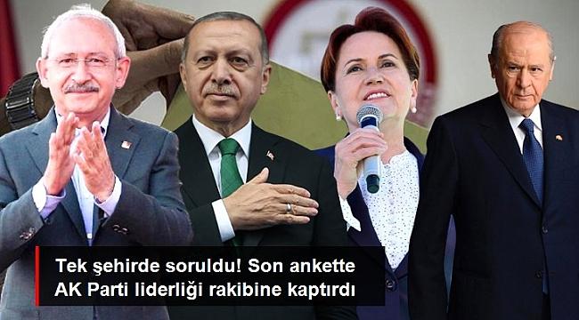 CHP OYLARI AK PARTİ'Yİ GERİDE BIRAKTI