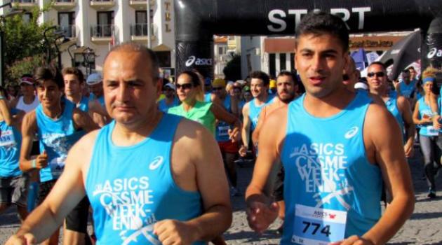 Çeşme'de 7'den 70'e Maraton heyecanı