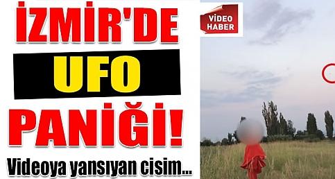 ÇEKİM YAPARKEN UFO'YU YAKALADI!