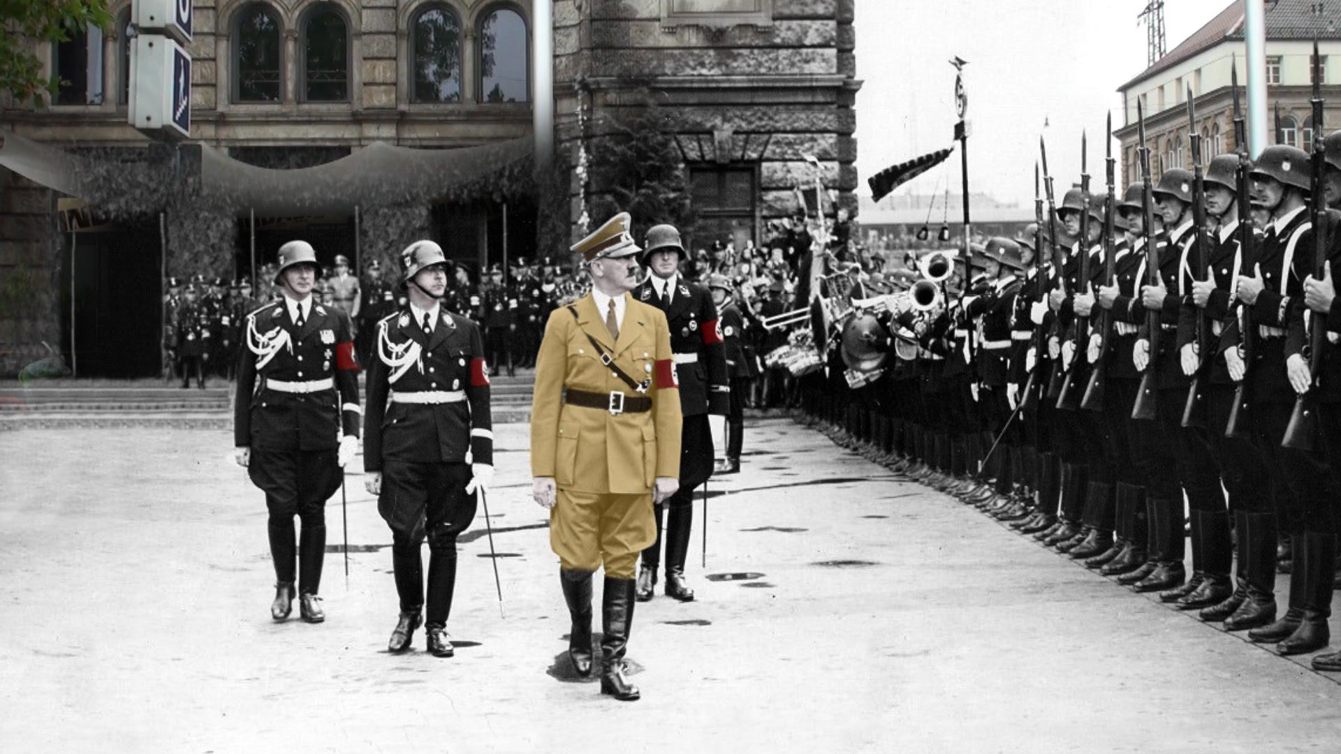 Nürnberg'de Hitler izleri
